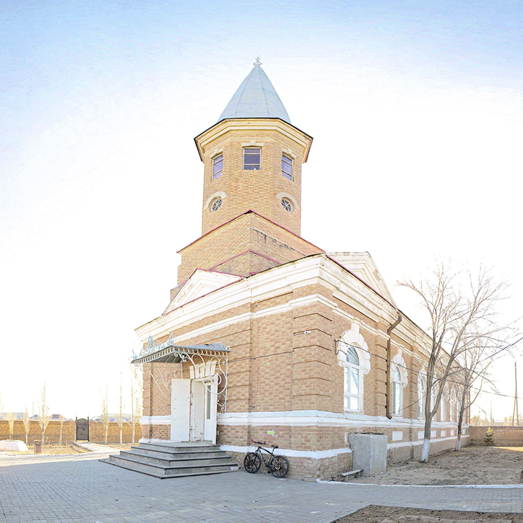 Историко-архитектурный комплекс «Керуен-Сарай». Мечеть