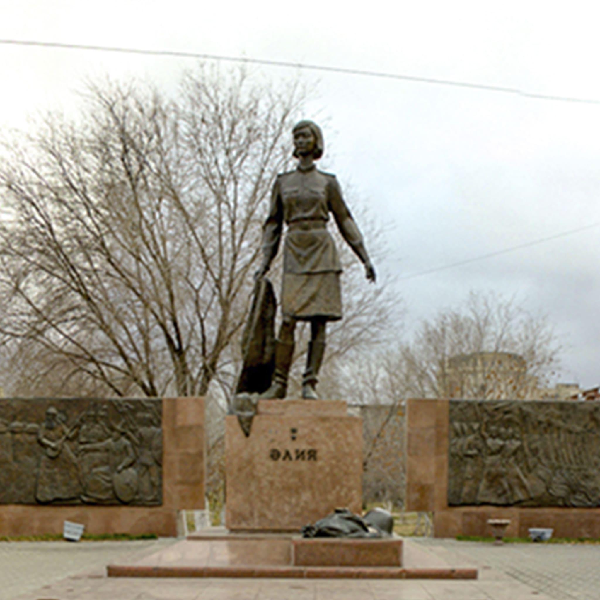 Мемориальный памятный комплекс Герою Советского Союза А.Молдагуловой