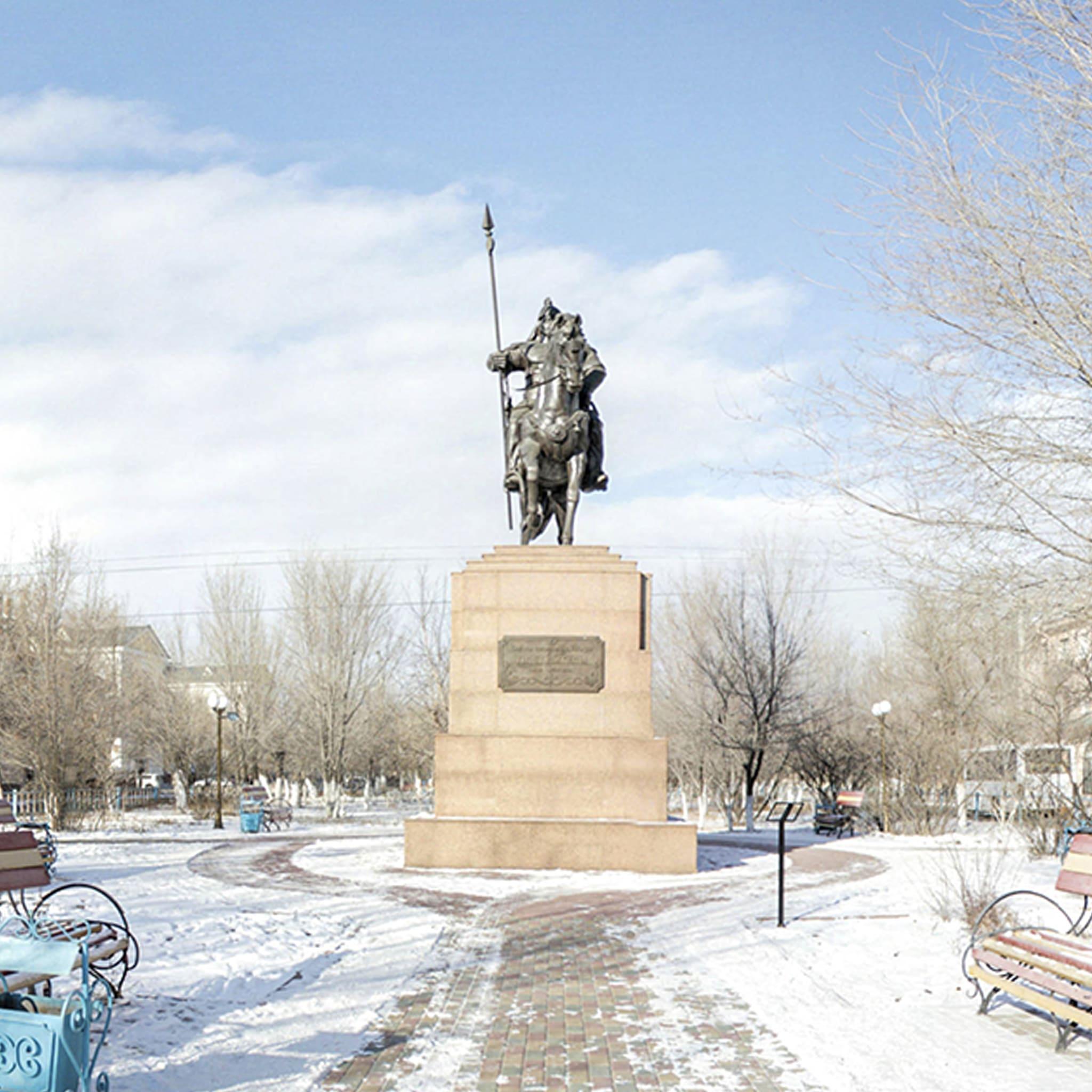 Памятник Тлеу батыра