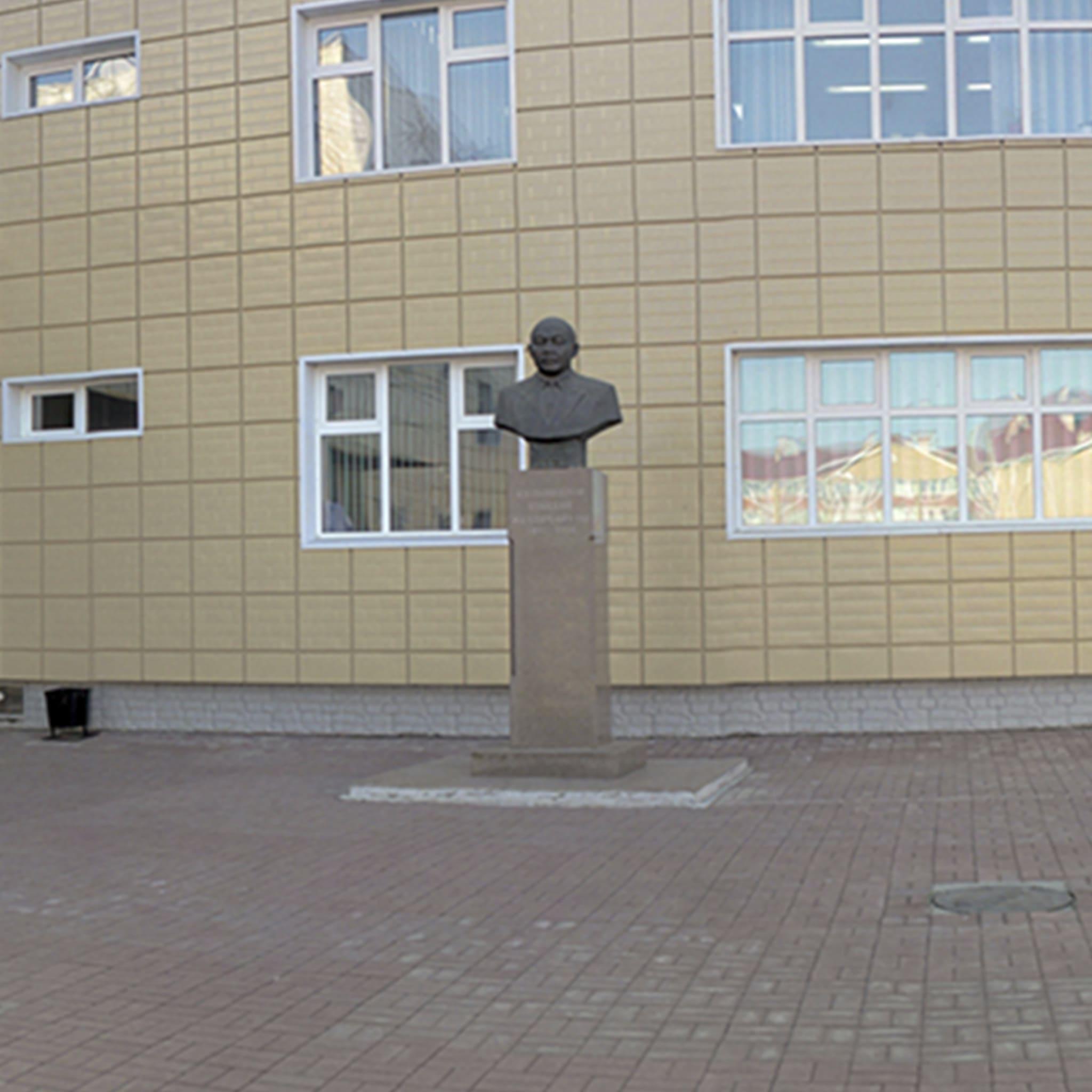 Памятник-бюст У.Ж. Кулымбетова